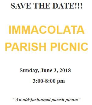 2018 Immacolata Parish Picnic