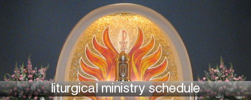 Ministry Schedule Banner